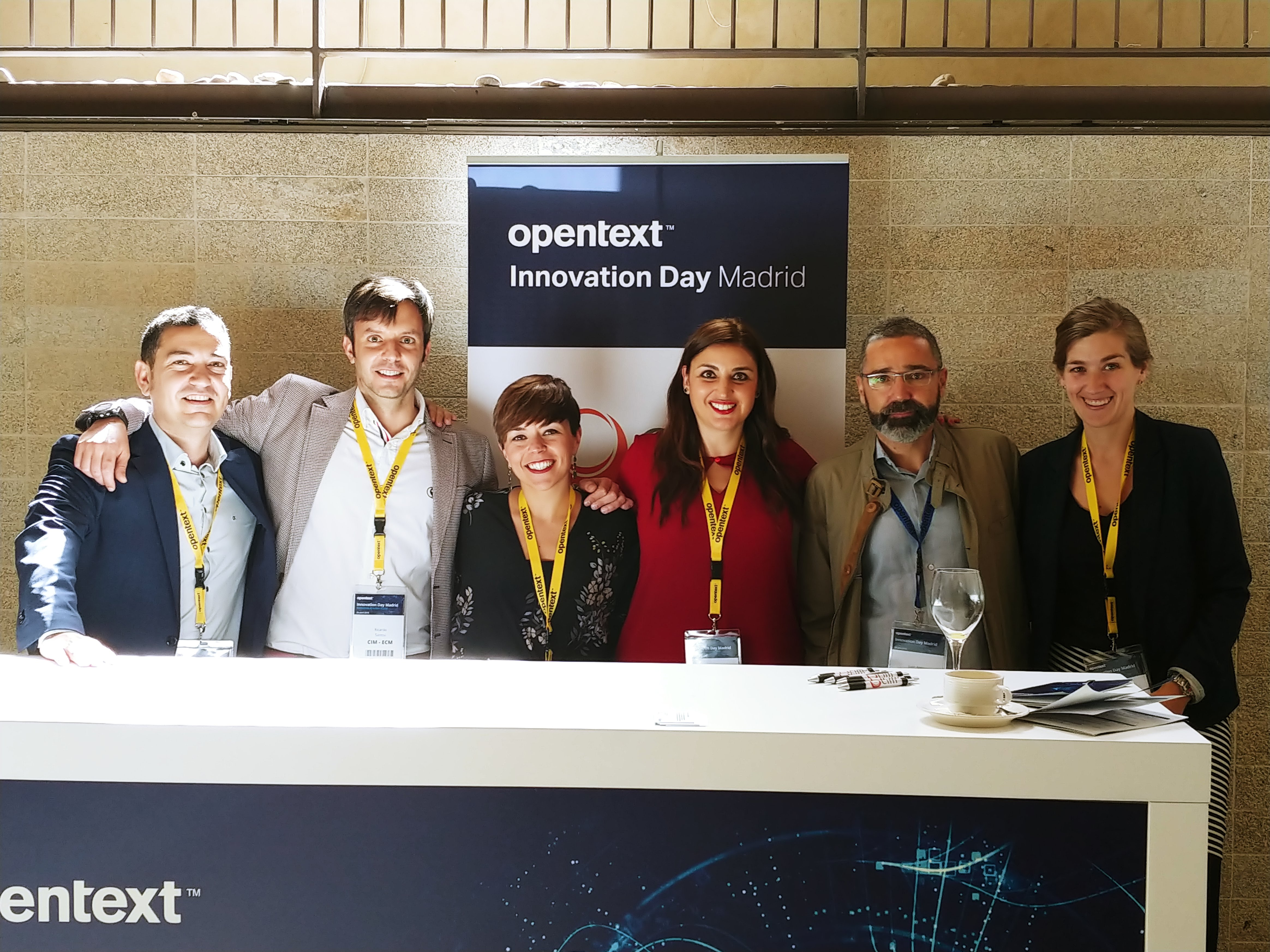 CIM at OpenText Innovation Day Madrid 2018: defining the